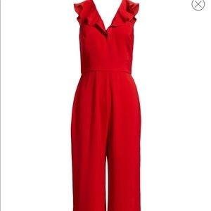 Wayf Red Jumpsuit